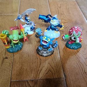 Skylanders Bundle of 5 Figures, Giants Lot 7